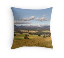 Mt Roland in Tasmania Throw Pillow