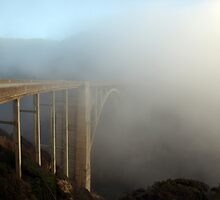 Bixby Canyon Bridge, Big Sur CA by Blake Rudis