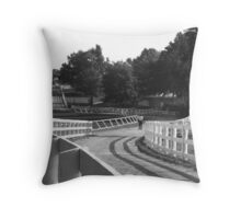 The Long and Winding Back Roads at Keeneland Throw Pillow