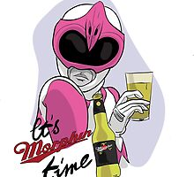 "Mighty Morphin Power Rangers (Kimberly Hart) ""It's Morphin Time"" by DrawnUnderRated"