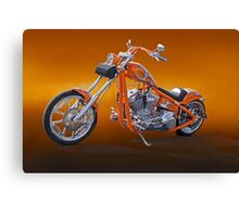 Chopper California Style III Canvas Print