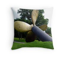 WWII Troopership Propeller Throw Pillow