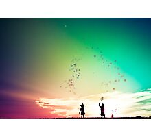You cut me out in little stars....and placed me in the sky Photographic Print
