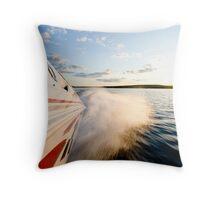 70 MPH Throw Pillow