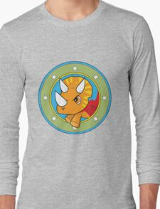 Wonder Triceratops! Limited Edition Design Long Sleeve T-Shirt