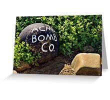 Bombs Away Greeting Card