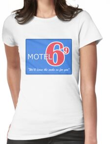 Motel 69 Womens Fitted T-Shirt