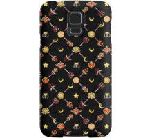 Sailor Moon Diagonal - Black Samsung Galaxy Case/Skin