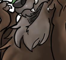 Werewolves are Cute Sticker