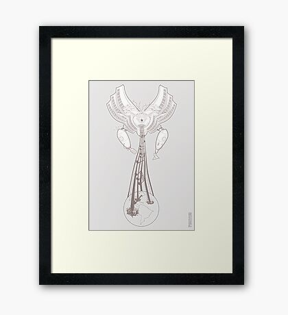 Machinichromatic - Healing the world one note at a time - [ Alt  Print ] Framed Print