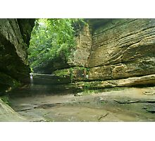 LaSalle Canyon Waterfall Photographic Print
