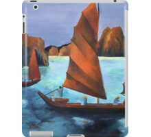 Junks In the Descending Dragon Bay iPad Case/Skin