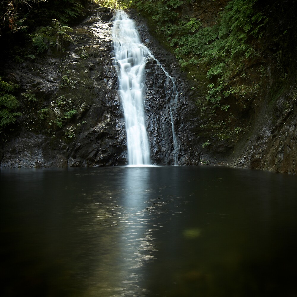 Crystal falls by bill vander sluys redbubble for Crystal falls