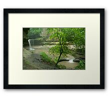 "Then Mother Nature said, ""Let There be Rain!"" Framed Print"