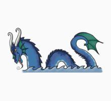 Elemental Dragons (Water) by suaveassassin