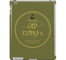 Old Toby's premium pipe-weed iPad Case/Skin