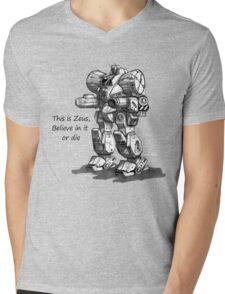 zeus Mens V-Neck T-Shirt