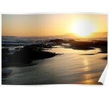 Johanna Beach Sunset X Poster
