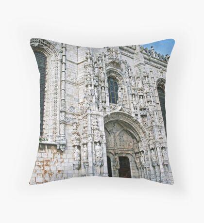 Mosteiro dos Jeronimos Throw Pillow