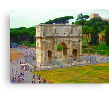 Arch Rome Canvas Print