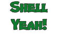 Shell Yeah! Photographic Print