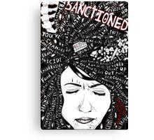 Sanctioned Canvas Print