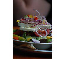 Greek Salad Photographic Print