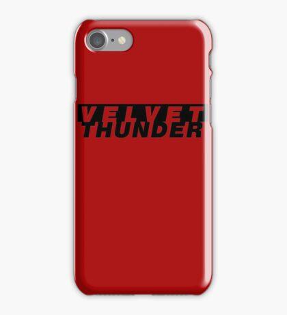 CODENAME: VELVET THUNDER iPhone Case/Skin