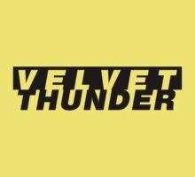CODENAME: VELVET THUNDER Kids Clothes