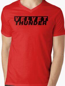 CODENAME: VELVET THUNDER Mens V-Neck T-Shirt