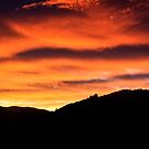 Morning Sky On Fire by cmrphotography