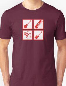 K-ON! Band Instruments Logo T-Shirt