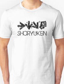 Shoryuken Command Black T-Shirt