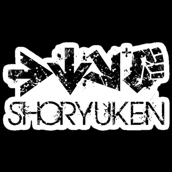 Shoryuken Command Black by Reshad Hurree