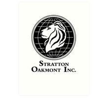 The Wolf of Wall Street Stratton Oakmont Inc. Scorsese Art Print