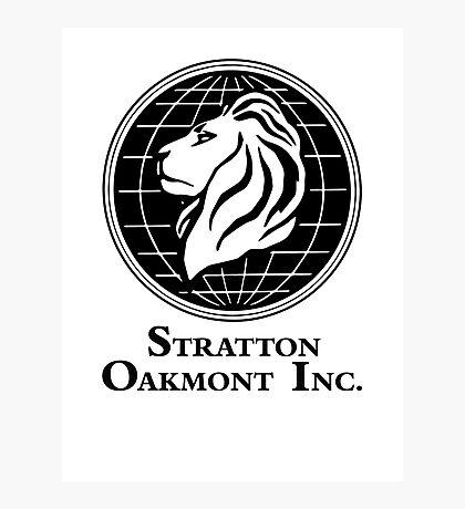 The Wolf of Wall Street Stratton Oakmont Inc. Scorsese Photographic Print