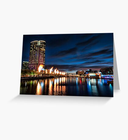Colours of Melbourne Greeting Card
