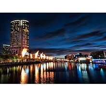 Colours of Melbourne Photographic Print
