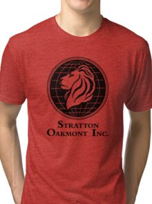 The Wolf of Wall Street Stratton Oakmont Inc. Scorsese Tri-blend T-Shirt