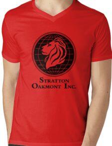 The Wolf of Wall Street Stratton Oakmont Inc. Scorsese Mens V-Neck T-Shirt