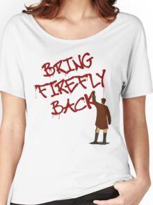 Bring Firefly Back Women's Relaxed Fit T-Shirt
