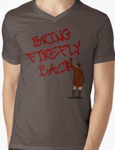 Bring Firefly Back Mens V-Neck T-Shirt