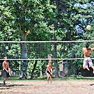 Sunday Volley ball at the park 10 by Oscar J. Aguilar B.