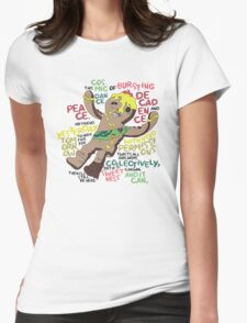 Adventure Time Royal Tart Toter Womens Fitted T-Shirt