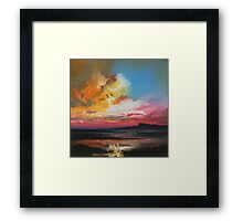 Sgurr of Eigg study Framed Print