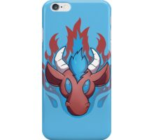 Flames (alt) iPhone Case/Skin