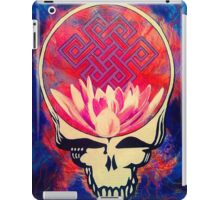 The Music Never Stops - Design 1 iPad Case/Skin