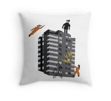 Misfits Super Hero Jumper / Sweater, Rudy 2 Throw Pillow