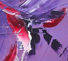 Purple patches by Tony Broadbent