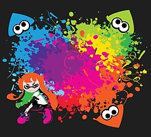 Splatoon - Ink Burst by lucasecurd
